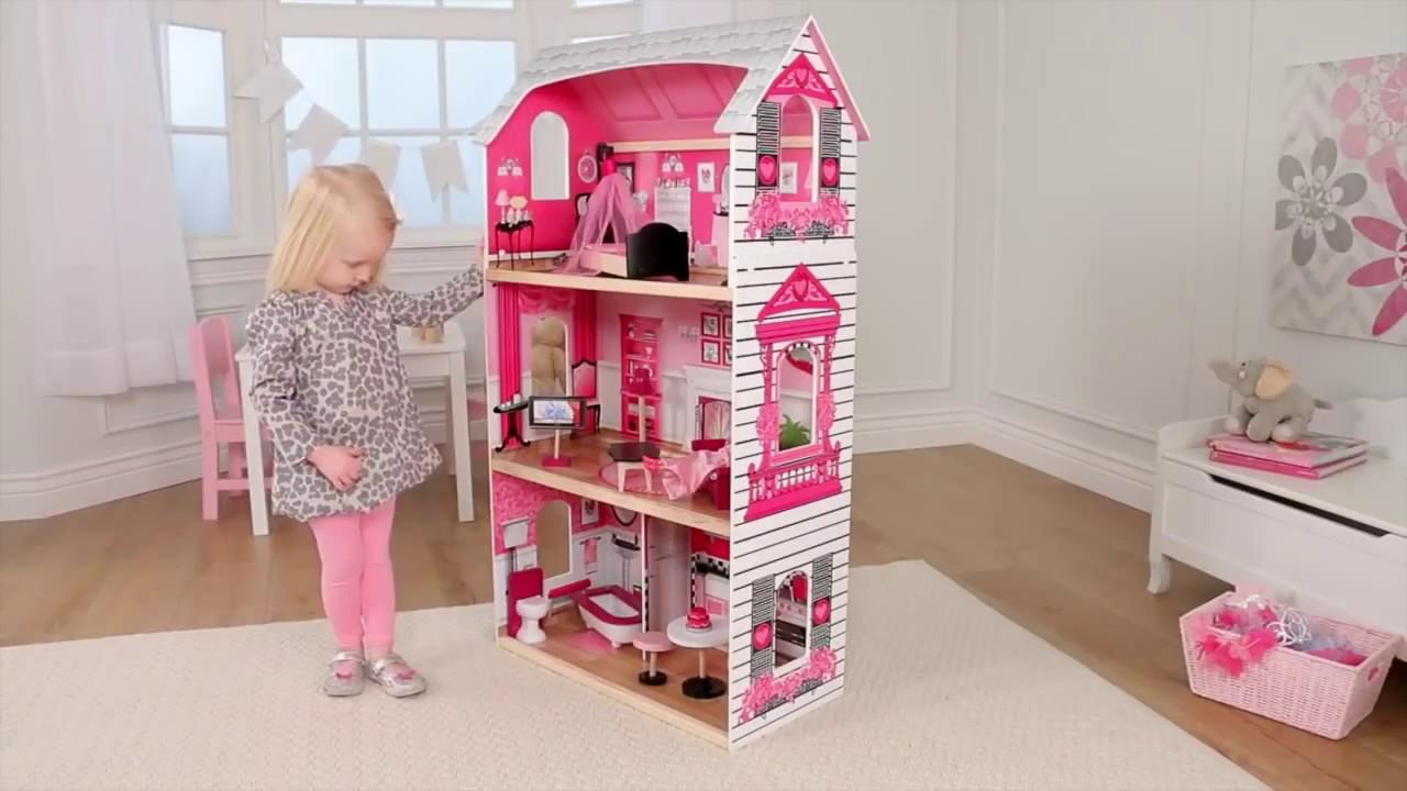 Подробные характеристики кукольного домика kidkraft кукольный домик