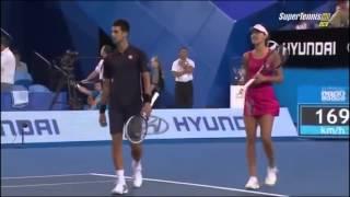 Những pha hài hước của Novak Djokovic - DancoSport.com