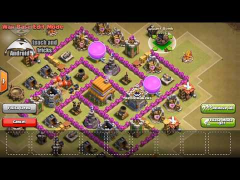 INSANE 'NEW' TH6 TROPHY BASE DESIGN!! [Town Hall 6 Trophy Defense] Clash of Clans - best of 2016