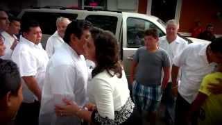 Homenaje a Don Víctor Cervera Pacheco en Dzemul, Yucatán