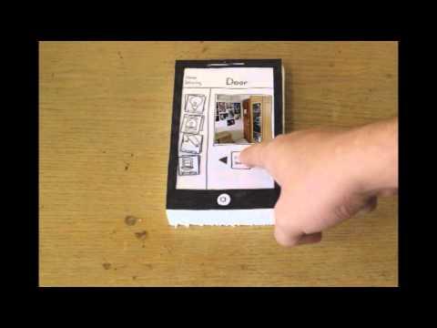 Interface Desgin - Paper Prototype