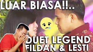 DUET LEGEND FILDAN EGOIS LESTI GERIMIS MELANDA HATI MUSIC VIDEO REACTION DA ASIA 4