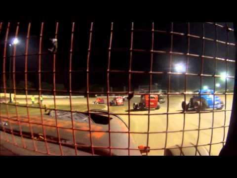 Dwarf Car Main Event l Creek County Speedway l HD GO PRO HERO 3
