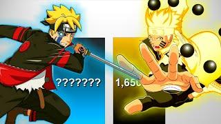 Boruto VS Naruto POWER LEVELS - Naruto/Naruto Shippuden/Boruto NNG