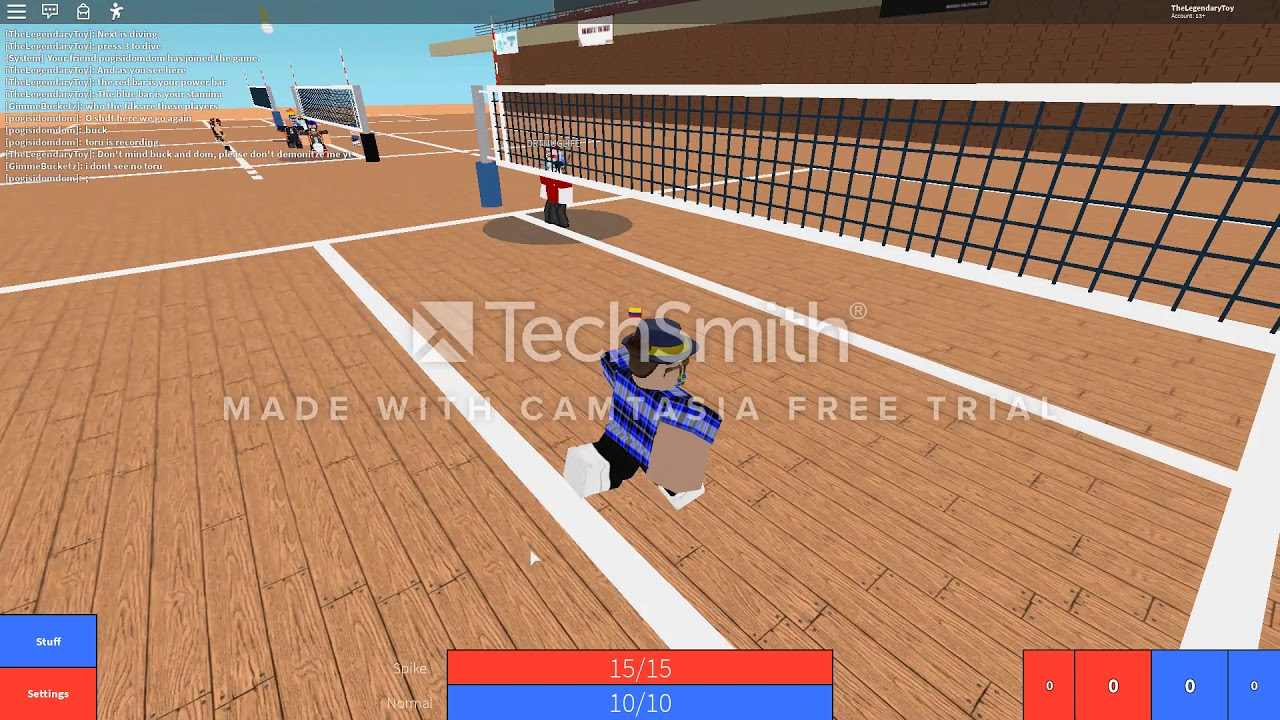 Roblox Volleyball 4 2 Introduction Controls Youtube