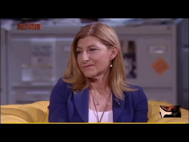Giorgia Meloni Gela lo studio e i suoi ospiti su immigrazione...
