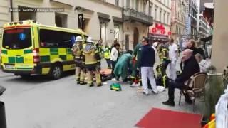 Blutiger Terror in Schweden: Lkw rast in Menschenmenge in Stockholm