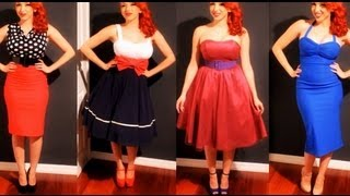 Popular Pin-up girl & Vintage clothing videos