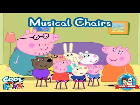 Peppa Pig's Party Time - Musical Chairs | Peppa Pig Playing Musical Chairs | Cool Apps For Kids