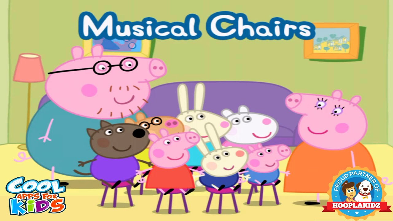 Peppa Pig s Party Time Musical Chairs