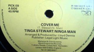Tinga Srewart & Ninja Man - Cover me 1988 (Original & Dub version)