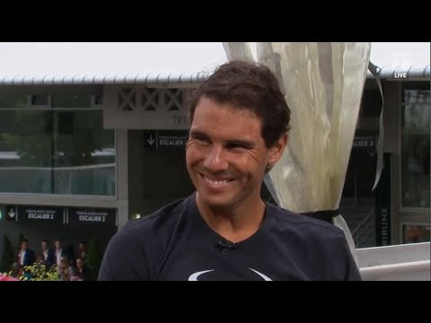Rafael Nadal Interview for Tennis Channel at RG, 3 June 2017