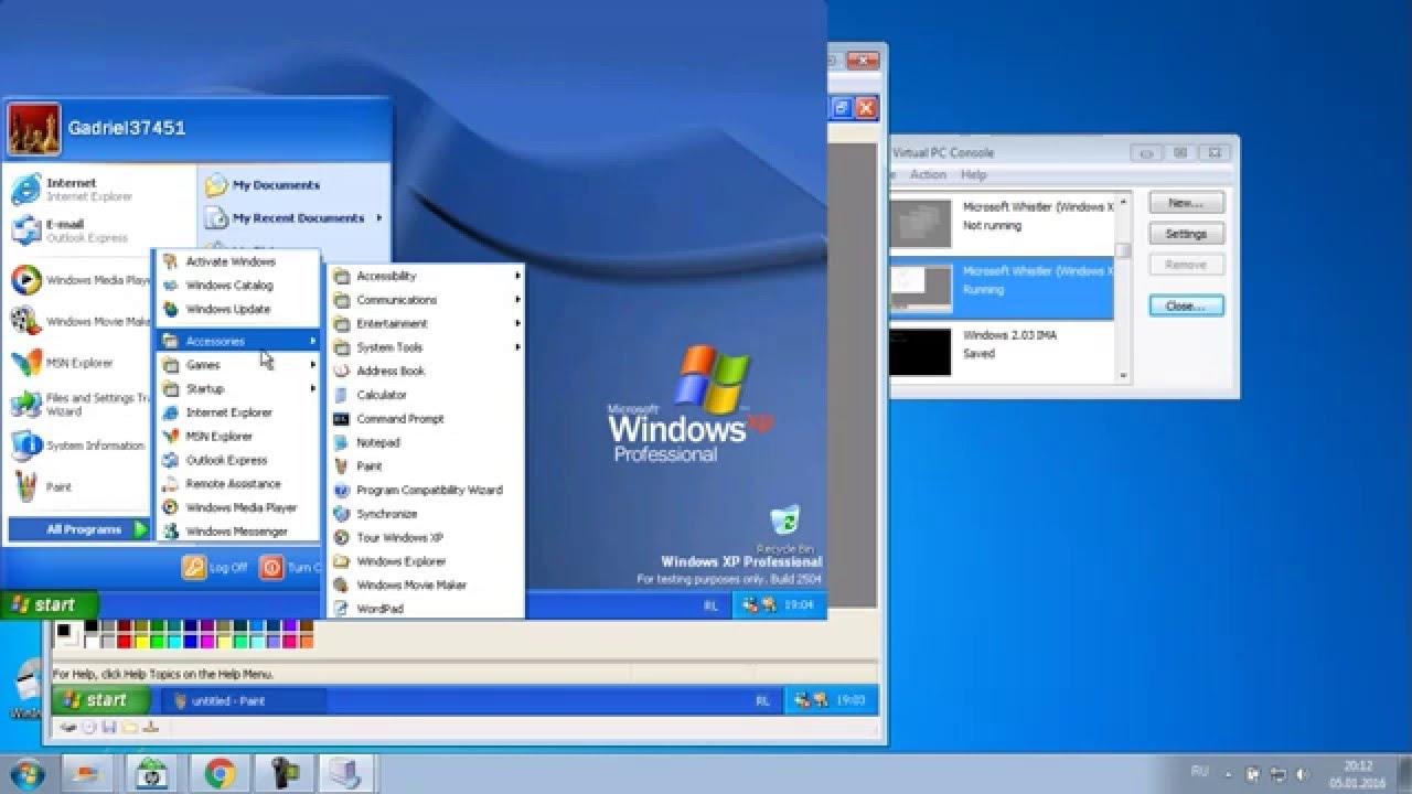 Microsoft Office Free Trial >> Microsoft Whistler (Windows XP RC1) Build 2504 - YouTube