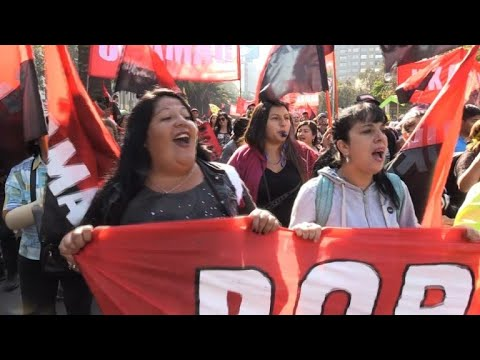 Thousands protest in Chile against Pinochet-era pension system