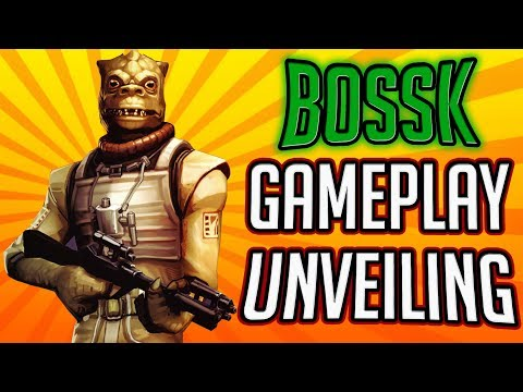 Bossk Gameplay Unveiling! The Tank the Bounty Hunters Needed! | Star Wars: Galaxy of Heroes