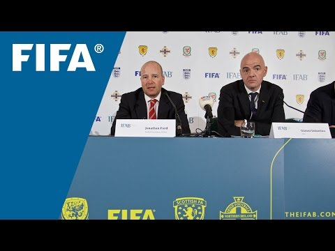 REPLAY: IFAB - 130th Annual General Meeting Press Conference