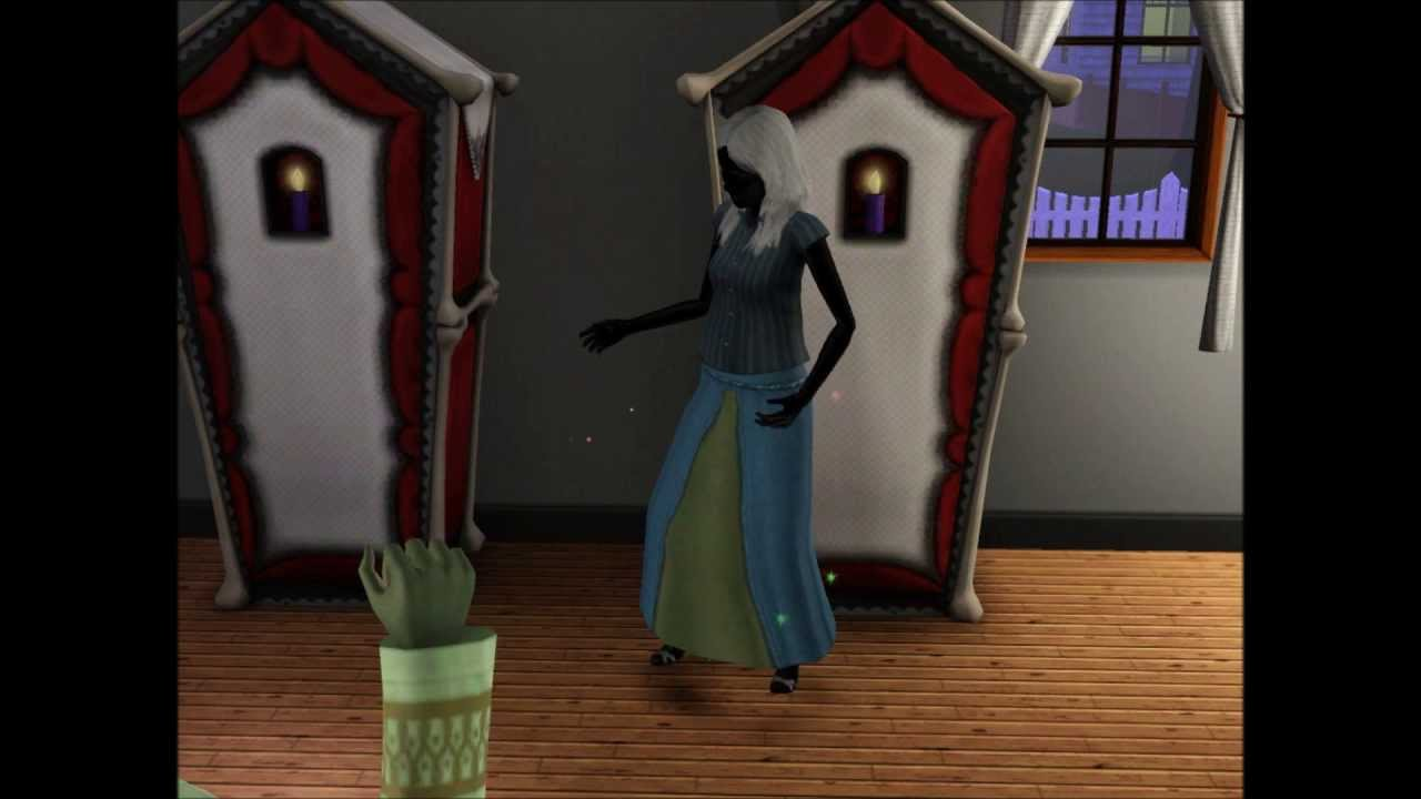 Sims 3 The Skeleton Maid Bonehilda Youtube