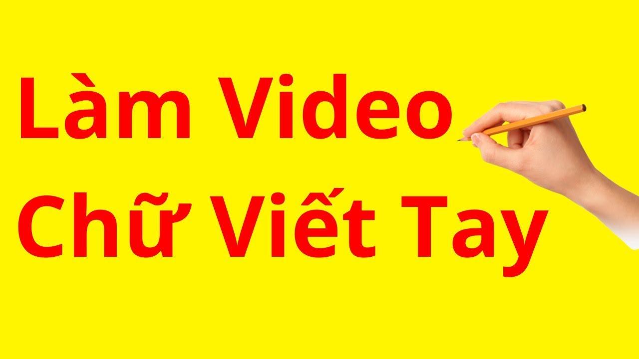 Cách Làm Video Quảng Cáo Chữ Viết Tay Với VideoScribe