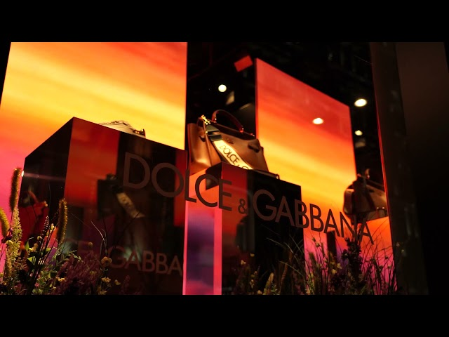 London Audio Visual - LED screen hire Solution for Retail Window Display at Harrods