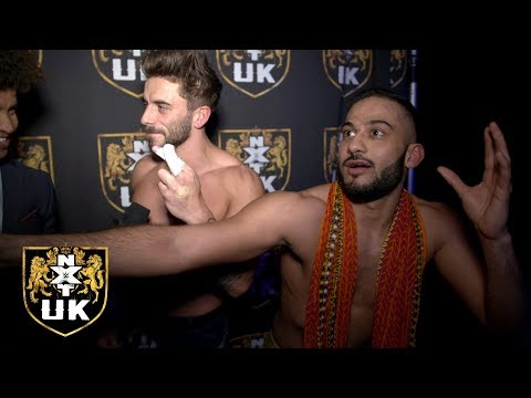 Kenny Williams & Amir Jordan are finally on the same page: NXT UK Exclusive, Jan. 9, 2019
