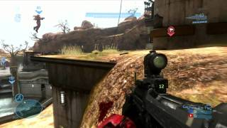 Halo Reach Online Multiplayer Gameplay (+21 k/d) 1080p HD SCOUT CLASS ShinDeon Z