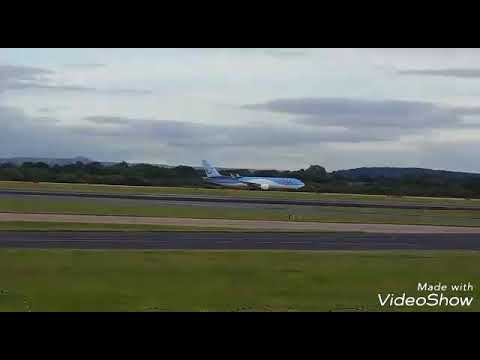 RARE HIFLY A340, AMERICAN RETRO AND PIA,BEST OF MANCHESTER AIRPORT #05