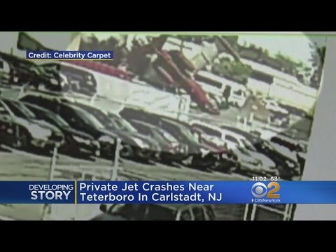 Two Lives Lost When Learjet Crashes Near Teterboro Airport
