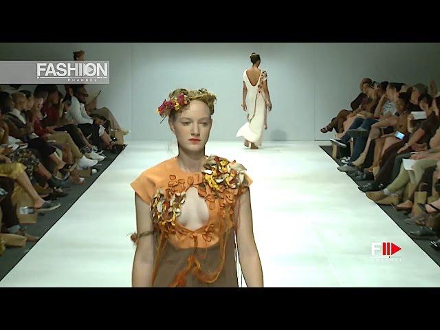 SIMONÉ BUFÉ Spring Summer 2017 SAFW - Fashion Channel