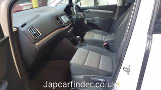 VW SHARAN 1400CC TSI BLUEMOTION AUTO PETROL @JAPCARFINDER.CO.UK