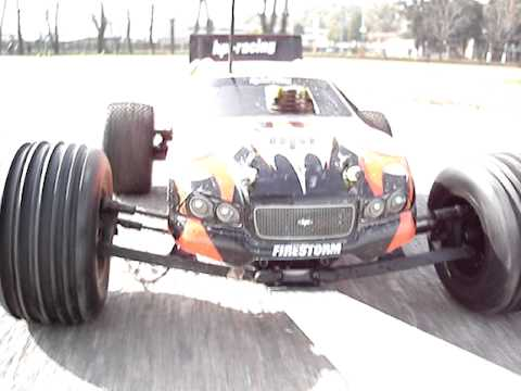 Hpi Firestorm 10T - ARGENTINA - Cam on board