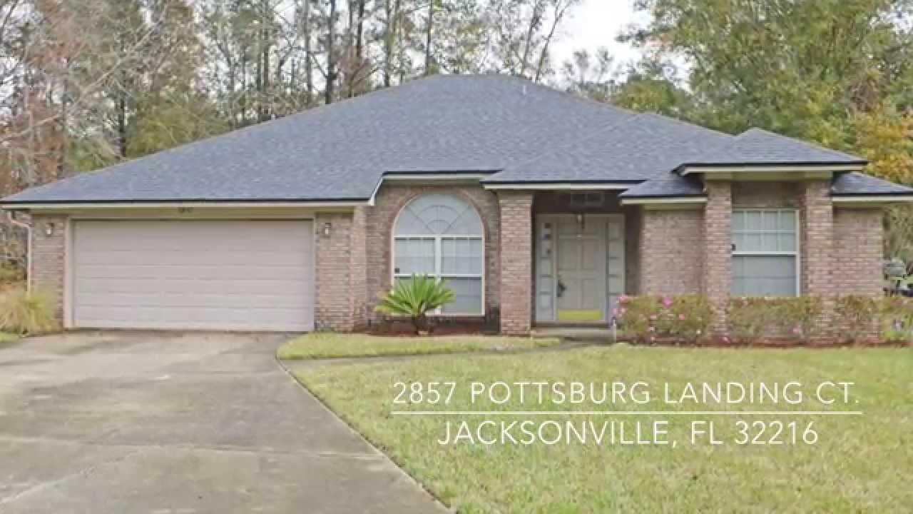 Homes for sale 32216 - Jacksonville FL homes for sale 2857 Pottsburg Landing Court - YouTube