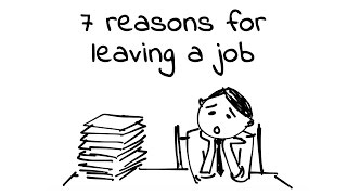 7 Reasons for Leaving a Job - Doodle Love