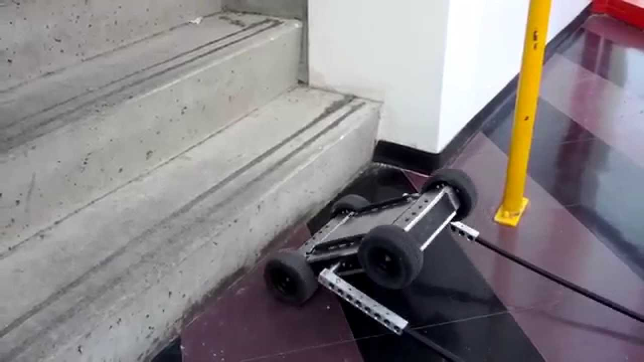 Awesome Stair Obstacle Climbing Robot Self Balancing