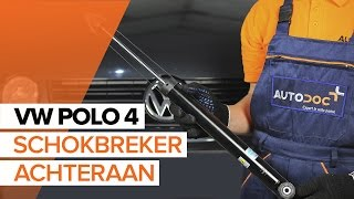 Schokbrekers vóór monteren VW POLO (9N_): gratis video