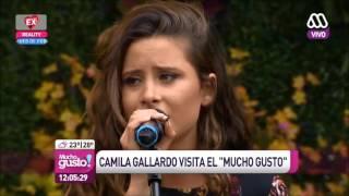 Camila Gallardo - Más de la Mitad (Mucho Gusto 03-02)