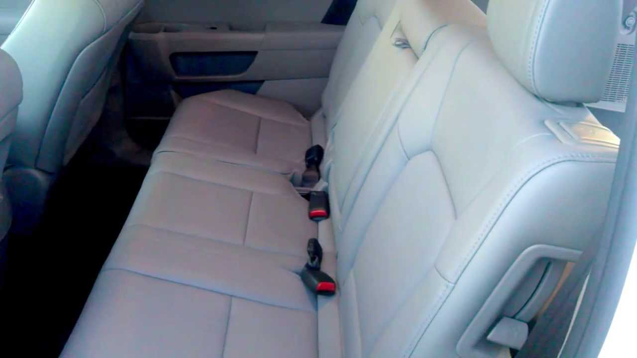 Honda Pilot 2nd Amp 3rd Row Seating Youtube