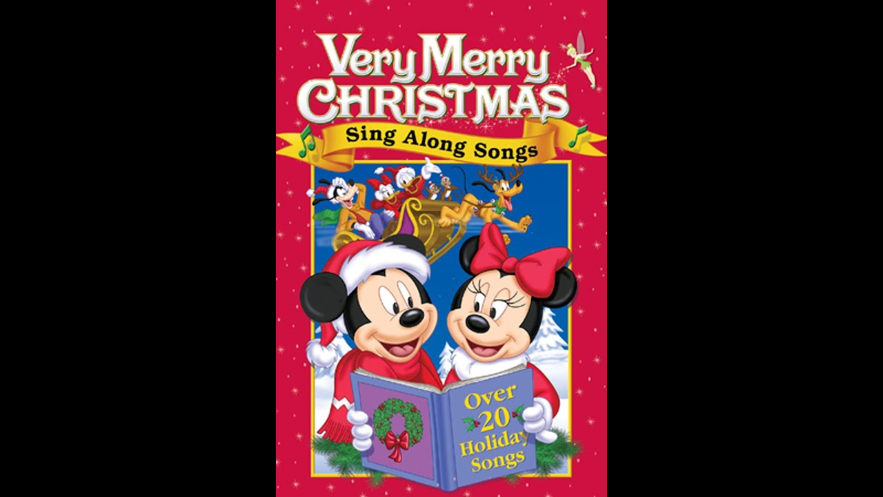 Opening Previews to Disney's Very Merry Christmas Sing Along Songs (2002 DVD) - YouTube