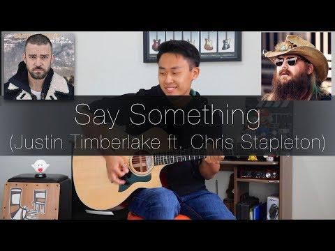 Justin Timberlake ft Chris Stapleton Say Something - Rodrigo Yukio Fingerstyle Guitar Cover