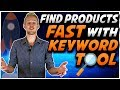 How To EASILY Find PROFITABLE Amazon Products FAST | New Viral Launch Keyword Search Tool
