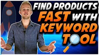 How To EASILY Find PROFITABLE Amazon Products FAST   New Viral Launch Keyword Search Tool