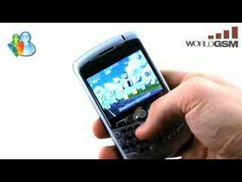 WORLDGSM : BlackBerry Curve 8300