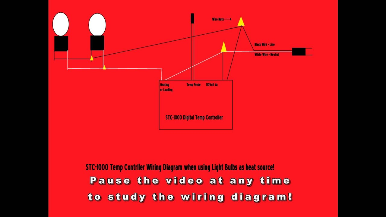hight resolution of stc 1000 digital thermostat wiring diagram without ssr