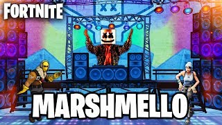 MARSHMELLO IN FORTNITE - NEW LEAKED FORTNITE EVENT (FORTNITE BATTLE ROYALE)