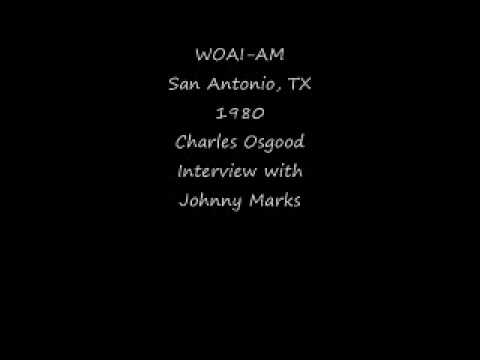 WOAI AM San Antonio, TX 1980 Charles Osgood with Johnny Marks