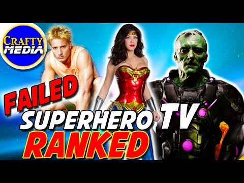 Top 5 Failed Superhero TV Shows All Time!