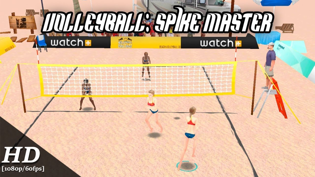 Volleyball : Spike Master Android Gameplay [1080p/60fps]