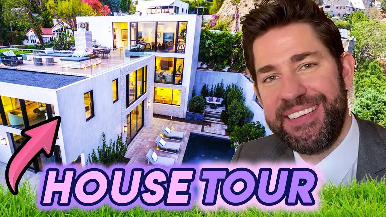 John Krasinski | House Tour 2020 | $ 16 Million Brooklyn Mansion | SomeGoodNews