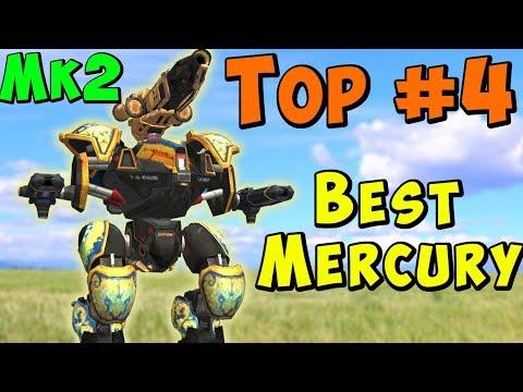 Top #4 Setup? MERCURY EMBER HALO - Crazy Mk2 War Robots Gameplay WR