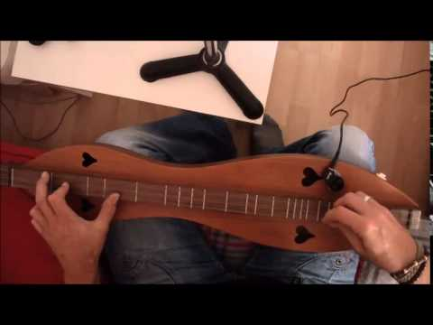 Hallelujah - Leonard Cohen cover on mountain dulcimer & how to play
