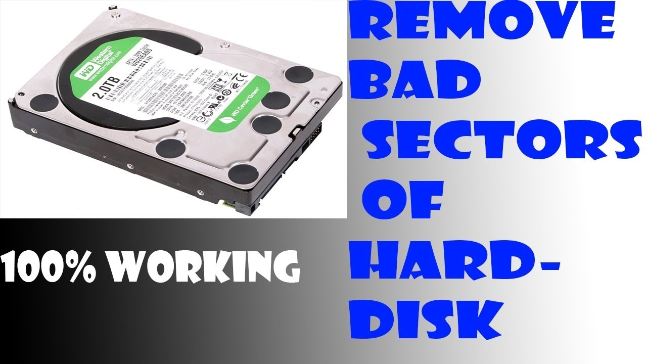 How easy is to fix bad sectors in the hard drive?